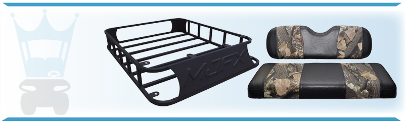 Find Buggy Hunting Accessories for EZGO, Yamaha and Club Car carts