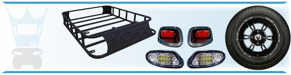 Golf Cart Accessories for Club Car, Yamaha, and EZGO