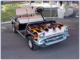 Golf Cart Body Tips For Paint Job Skins Tops And More Golfcartking Com