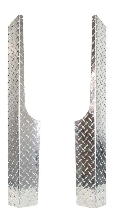 Ezgo Rocker Panels Diamond Plate Rxv Golf Cart King