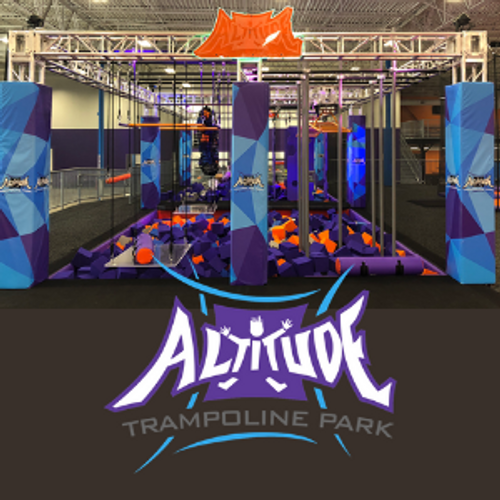 4-pack of 60-Minute Jump Passes for Altitude Trampoline Park