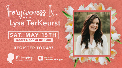 Admission to FORGIVENESS IS...with Lysa TerKeurst