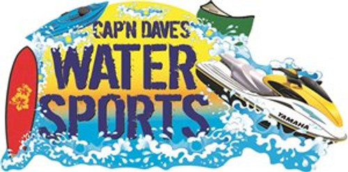 $22 gift certificate for 1-Hour Rental at Cap'n Dave's Watersports - Paddle board, Kayak or Canoe - You pay $12