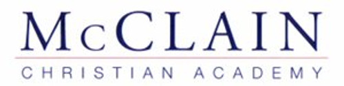Discounted Full Tuition to McClain Christian Academy