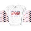 Nana shirt live love spoil Nana personalized Tshirt
