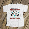 Big brother shirt someday a rockstar now I'm the big brother personalized Tshirt