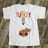 Thanksgiving maternity shirt turkey in the oven custom womens non-maternity or maternity Tshirt