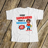 Big brother shirt comic book superhero pregnancy announcement Tshirt