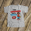 Big brother shirt comic book superhero pregnancy announcement Tshirt