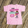 Big sister shirt comic book superhero pregnancy announcement Tshirt