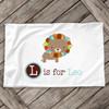 Colorful lion personalized pillowcase / pillow