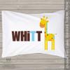 Spotted giraffe boy personalized pillowcase / pillow