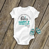 1st Father's Day girl bodysuit or t-shirt you're doing a great job dad personalized bodysuit or Tshirt