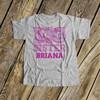 Big sister shirt pink camo personalized Tshirt