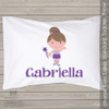 Ballerina dancer personalized pillowcase / pillow