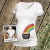St. Patrick's Day maternity shirt my pot of gold custom womens non-maternity or maternity Tshirt