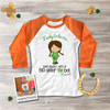 Big sister to be Irish lass lucky to be me  pregnancy announcement raglan Tshirt