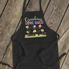 Grandma love bugs bib apron