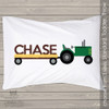 Tractor personalized pillowcase / pillow