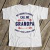 Call me grandpa personalized Tshirt