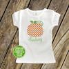 Fall pumpkin sparkly glitter Tshirt