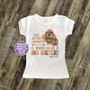 Thanksgiving pregnancy announcement little turkey big sister Tshirt