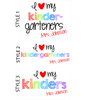 Love my second graders or any grade teachers raglan shirt