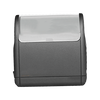 Initial and arrow address self inking stamp