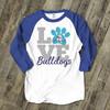 School Mascot Teacher Shirt - Bulldogs