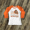 Thanksgiving pregnancy announcement little turkey big brother raglan shirt