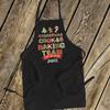 Holiday baking team adult dark apron