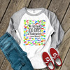 Teacher survived 100 days band aid raglan shirt