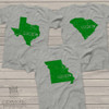 St. Patrick's Day lucky state Tshirt