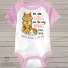 Mother's Day fox no one loves me like my mama girl RAGLAN bodysuit or shirt