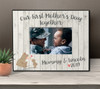 First Mothers Day together personalized photo frame