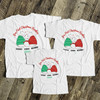 First Christmas daddy mommy baby bear matching THREE shirt gift set