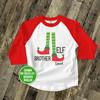 Brother elf raglan Christmas shirt