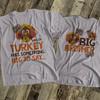 Thanksgiving big brother lil turkey listen up pregnancy announcement Tshirt