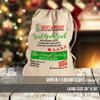 Christmas give back sack oversized canvas bag