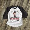 Big brother pirate shiver me timbers pregnancy announcement raglan shirt