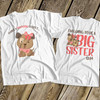 Big sister to be puppy dog secret pregnancy announcement Tshirt