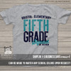Teacher any grade squad personalized Tshirt