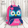 Owl personalized embroidered sidekick backpack by Stephen Joseph