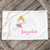 Fairy princess personalized pillowcase / pillow