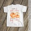 Big sister pumpkin watercolor optional glitter or foil pregnancy announcement Tshirt