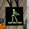 Skeleton floss like a boss trick or treat Bag