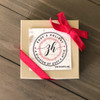 First Christmas mr and mrs let the adventure begin photo ornament
