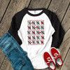 Valentine teacher 100th day tally mark zebra unisex adult raglan shirt
