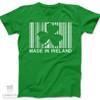 St. Patrick's Day made in Ireland adult unisex DARK Tshirt