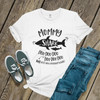 Mommy shark doo not mess with my baby Tshirt